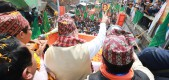 Amit Shah holds road show in Kalimpong