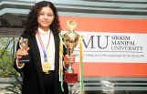 Manipal student Muskan Das wins 'strongest woman of Sikkim' title