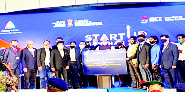 Startup incubated at AIC-SMUTBI wins Rs 1.5 cr grant at Defence India Startup Challenge