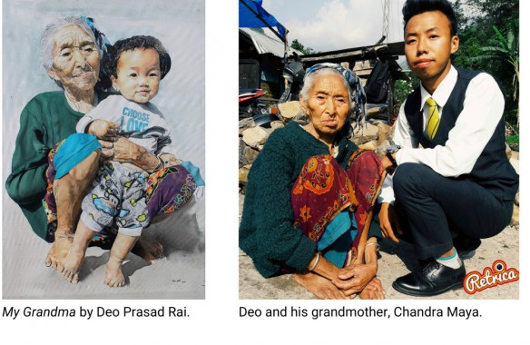 Sikkimese artist Deo Prasad Rai wins International Art Contest, commissioned to produce artwork series representing women with lung conditions