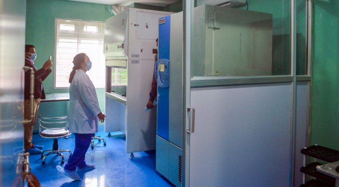 Viral lab inaugurated, completes Covid-19 centre of Sikkim