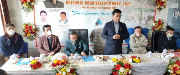 MP inaugurates month-long Road Safety Month observance