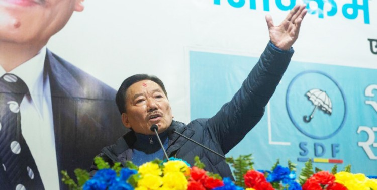 """Chamling announce reforms in SDF within """"collective leadership"""" policy"""