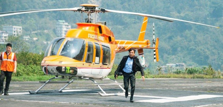 Telegu action film nearing shoot completion in Sikkim with local actors in prominent roles