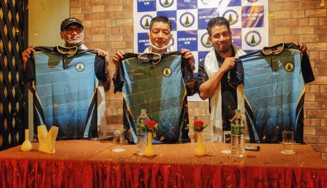 Alpine Sporting Club unveils jersey