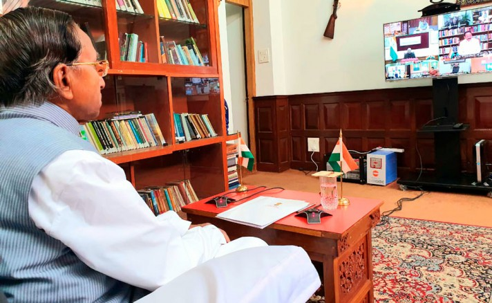 Governor Prasad updates President on Sikkim's preparedness against COVID-19 and lockdown arrangements